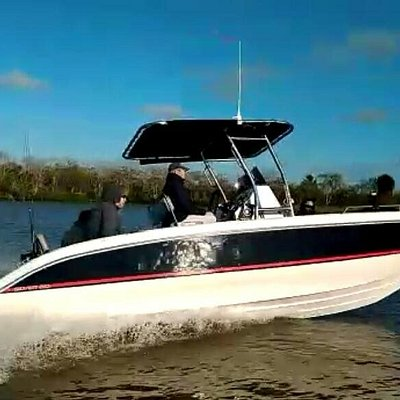 You'll be traveling on board your captain's 22' Silver Boat center console, newly built in 2018 and ready to transport up to 5 guests out onto the river. She's rigged with top-of-the-line fishing amenities, including GPS and fishfinder, life jackets for ages 12 and up, and a full toilet located in the center console. You'll be navigating these waters in plenty of comfort and safety.