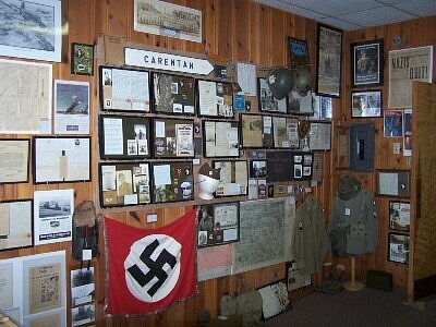 One of many displays.