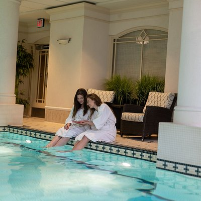 Spend a relaxing day at our spa.