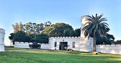En el Museo Batalla del Río de la Plata (Cuartel Paso del Rey) en  en Sarandí del Yi (Uruguay)