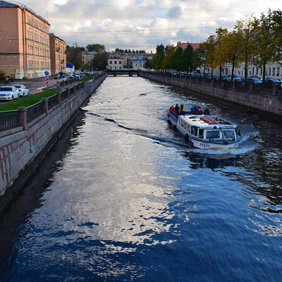 Крюков канал. Санкт-Петербург. Октябрь