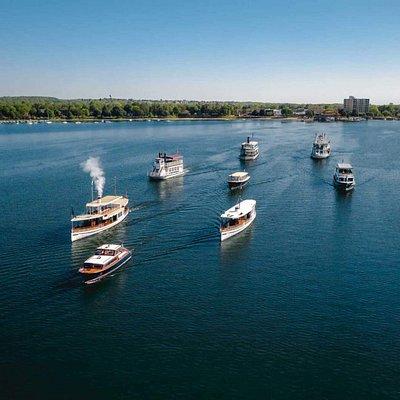 Lake Geneva Cruise Line fleet