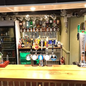 A refurbished bar area will greet you when you arrive. Some favourites and some new tastes on offer
