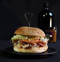 Smoked Chicken BLT Burger