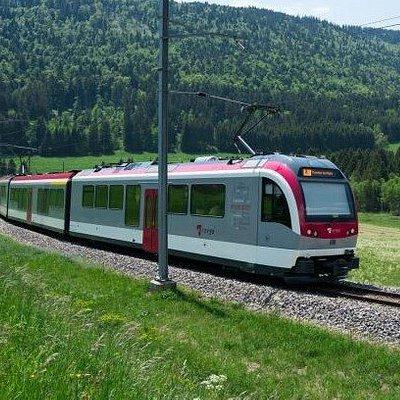 Ligne de chemin de fer Yverdon-Les-Bains - Sainte-Croix (Travys)