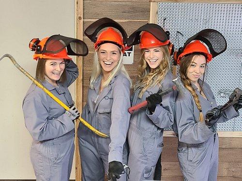 Demolition Room (Smash Room/ Rage Room) at Endorphin Factory in Grand Prairie/ Arlington.