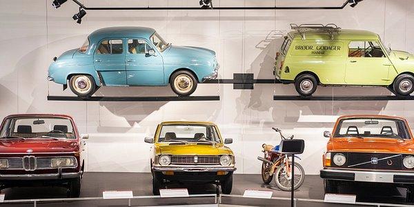 Biler fra Norsk kjøretøyhistorisk museum