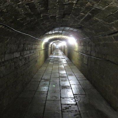 Гатчина. Подземный ход в Большом Гатчинском дворце.