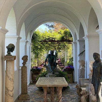 Villa San Michele - Loggia delle Sculture