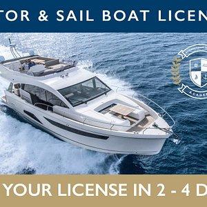 Boating license spain