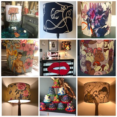 Here are your favorite 2020 handmade lampshades. All lampshades are handmade by me using a fantastic selection of quirky, retro , vintage and designer fabrics.