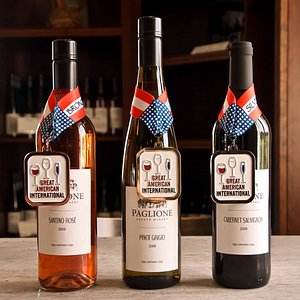 Gold, Silver, and Bronze winners at the Great American International Wine Championship