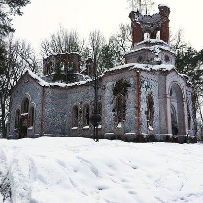 In white winter