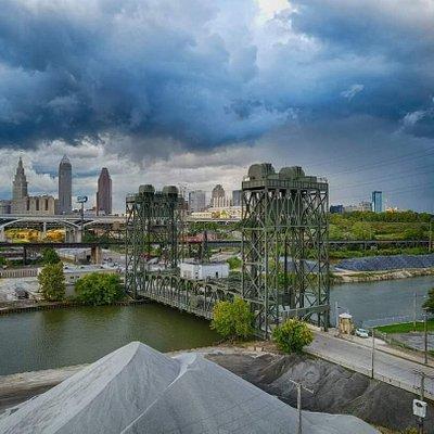 West Third Street Bridge, Cleveland, Ohio by Paul Duda