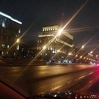 Ленинградский проспект, Москва.