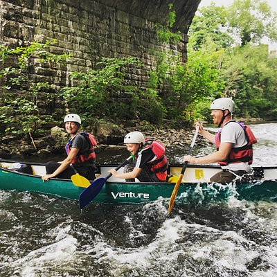 Canoeing adventures in the Peak District