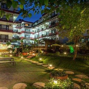Spa Samsara is in inside Thamel Eco Resort.
