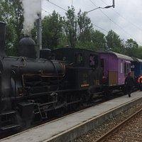 Train à vapeur Le Pont-Le Brassus (Vallée de Joux - canzon de Vaud) dans le but de faire revivre la traction à vapeur et de faire découvrir ces véhicules historiques au grand public.