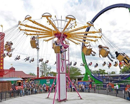 13 amusement park rides for all thrill levels!