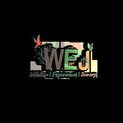 Our Logo. W stands for Wildlife, E stands for Experiences & J stands for Journeys.