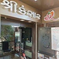 Shree Kansar Restaurant Porbandar.  Unlimited Gujarati Thali