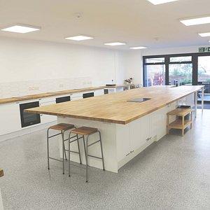 Inside Little Kitchen Cookery School