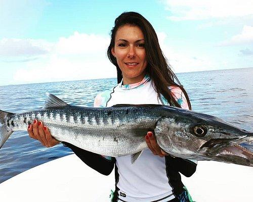 Barracuda pêché aux leurres en Guadeloupe