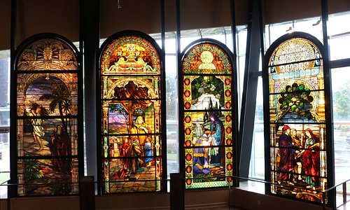 The SMMJA's Stained Glass Windows
