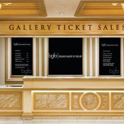 Bellagio Gallery of Fine Art - Box Office
