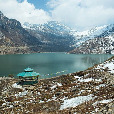 "Serene Beauty lies on its own, Beautiful Sikkim ""Pyaroo Sikkim ""  Location : T S O M G O L A K E, Sikkim"