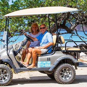 Rent a golf cart to cruise around flamingo, Potrero, Brasilito and Surfside!   Lots of fun and safe!