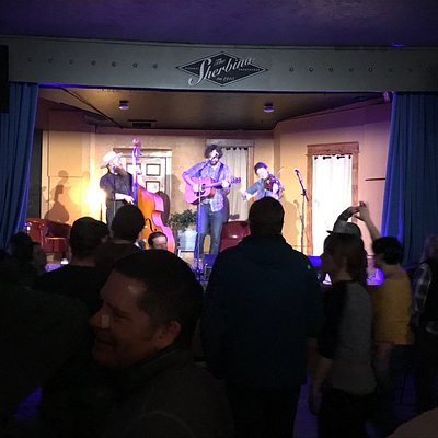 Built in 1915, the Sherbino has a long-standing history with the community of Ridgway -- for locals and visitors alike!  An intimate room with an unmatched, casual vibe -- a night out at the Sherb is always a fun night out!