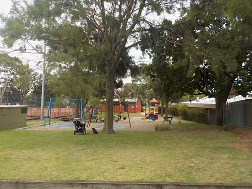 playground seen from East
