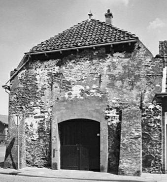 Voorgevel ca. 1960, voor restauratie