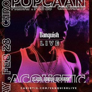 """Popcaan Acoustic """"Vanquish"""""""