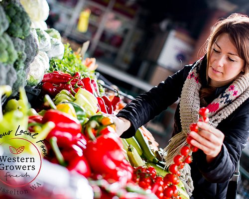 Stock up on delicious fresh local produce.