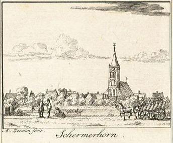 Ets, kerk ca. 1750