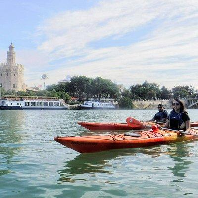 rutas en kayak por Sevilla