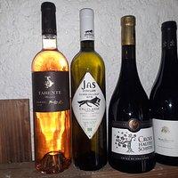 Une sélection de  vins de région