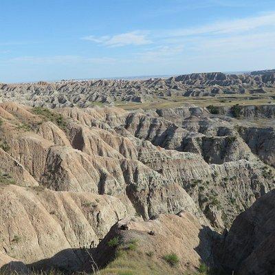Badland Wilderness overlook