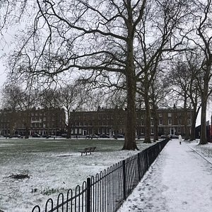 In 1885, at a cost of £80,000 (£9.5million in today's terms) the Fields were opened as a recreation ground. The posh people in the houses of Highbury Place and Highbury Crescent were not best pleased.