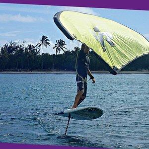 Wingfoil aux Salines Martinique