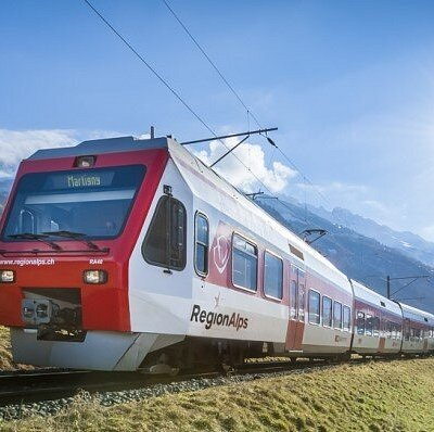 Regionalps - relier la plaine à la montage, vers Orsières ou vers Le Châble (canton du Valais)