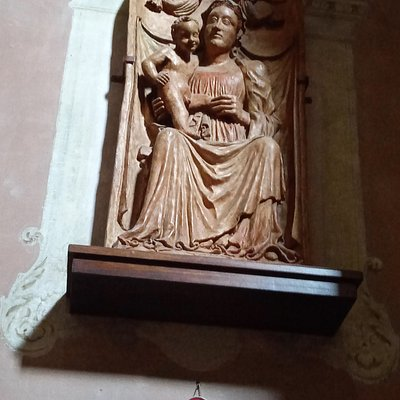 """La """"Madonna degli Angeli"""" del XV secolo della scuola modenese"""