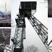 Der Förderturm der ehemaligen Zeche Friedrich Thyssen/6 in Hamborn, ist das erste Industrie-Denkmal der heutigen Stadt Duisburg.
