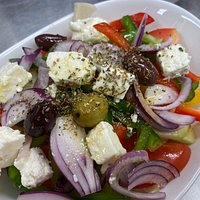 Greek salad 😊