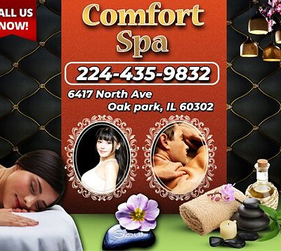Comfort Spa is an Asian massage spa designed to help you reduce stress, relieve build up chronic pain, and increase the overall quality of your life! We specialize in multiple affordable, customized treatments to meet the needs of a wide variety of clients in a peaceful setting! We are proud to be providing Authentic Asian Massage therapy services in our beloved community of Oak Park, IL!