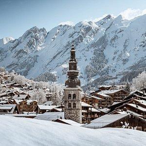 Village de La Clusaz - crédit Clément Hudry