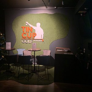 Tin Cup Golf at the Plaza improve your golf and have fun with friends.
