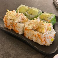 The best Suchi in town  Excellent service, delicious fresh food  A very nice atmosphere